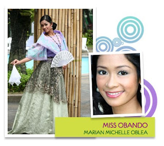 Miss Philippines Water 2008 - Marian Michelle T. Oblea (Municipality of Obando)