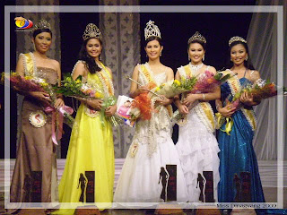 Miss Dinagyang 2009 Winners