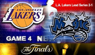 Watch Video Live Los Angeles Lakers vs Orlando Magic Game 3 NBA Finals 2009 Online