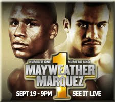 MAYWEATHER vs. MARQUEZ Number One/Numero Uno See It Live Here