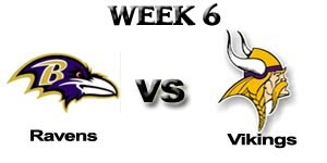 Watch NFL Baltimore Ravens vs. Minnesota Vikings Live Online