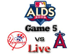 Yankees vs. Angels Game 5 Live
