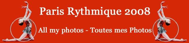 Paris Rythmique 2008 - Mes photos