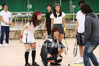 Playful Kiss Behind The scene, happy day!