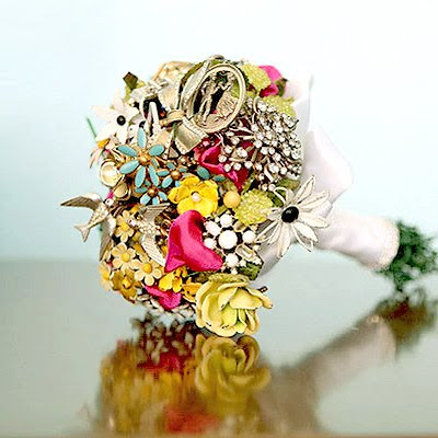 Vintage Brooch Bouquet photo 1