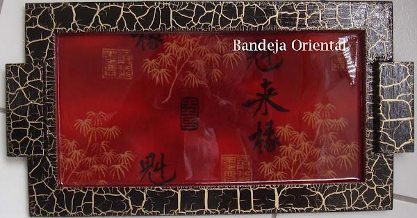 Bandeja Oriental - R$ 50,00