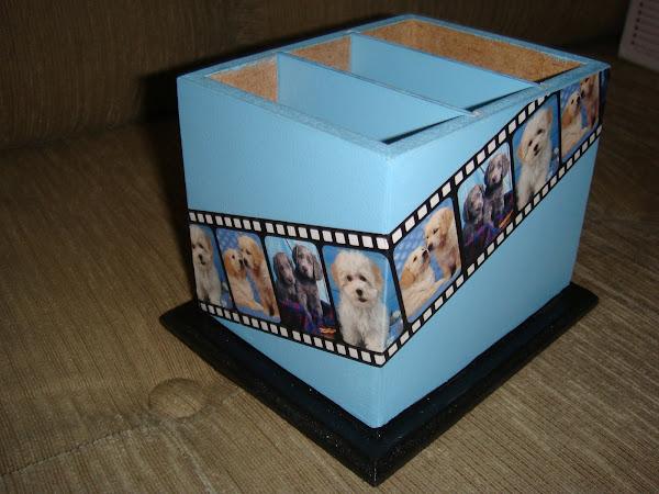 Porta Controle c/3 Dog - R$ 18,00