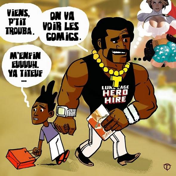 trouba's comics