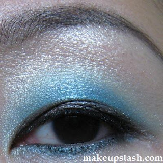 EOTD | Lunasol Sheer Contrast Eyes in EX01 Blue Green Coral Revisited