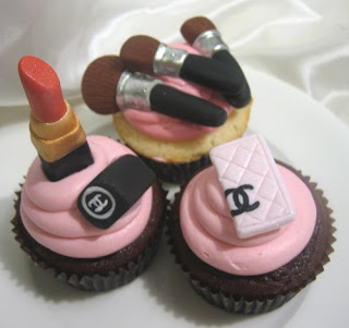 Makeup Cupcakes