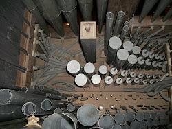 Vue intérieure de l'orgue