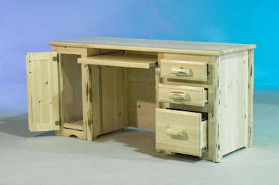 any of our furniture and all the log trim and handles of our furniture