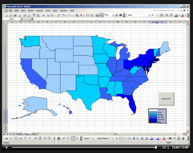 Create Us Map In Excel 2010
