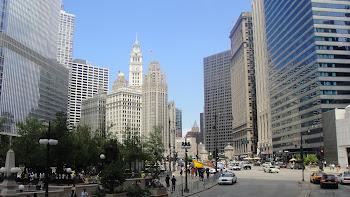 Prédios Antigos e Modernos da Cidade de Chicago