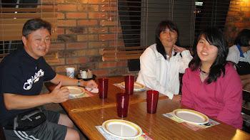 Sensei Nagano, Mary e Vivian Sakay