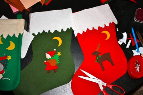 Paper Christmas Stocking