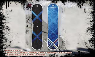 coolest usb flashdrive-snowboards