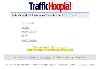 рейтинг трафикообменных сайтов