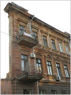 дом-обманка в Одессе