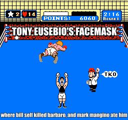 Tony Eusebio's Facemask