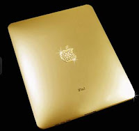 iPad en oro