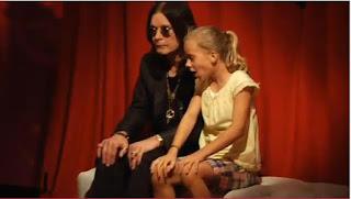 Sustos de la mano de Ozzy Osbourne haciendo una pequeña broma