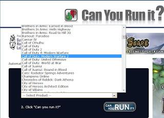 Can you Run It, ver si tu pc soporta algún videojuego