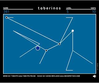Jugar a Taberinos, haz desaparecer las lineas