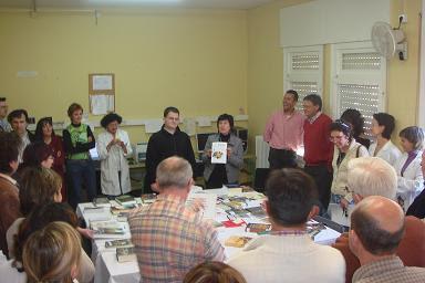 Presentación en Marcilla del libro -Empezar de cero a programar en lenguaje C- de Carlos Pes