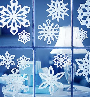 Lisa loves holidays december 27 is make cutout - Copos de nieve manualidades ...