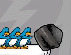 Resacate pinguinos(mini juego)