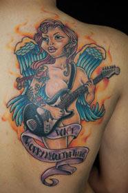 Fotos Tatuagens de Anjos