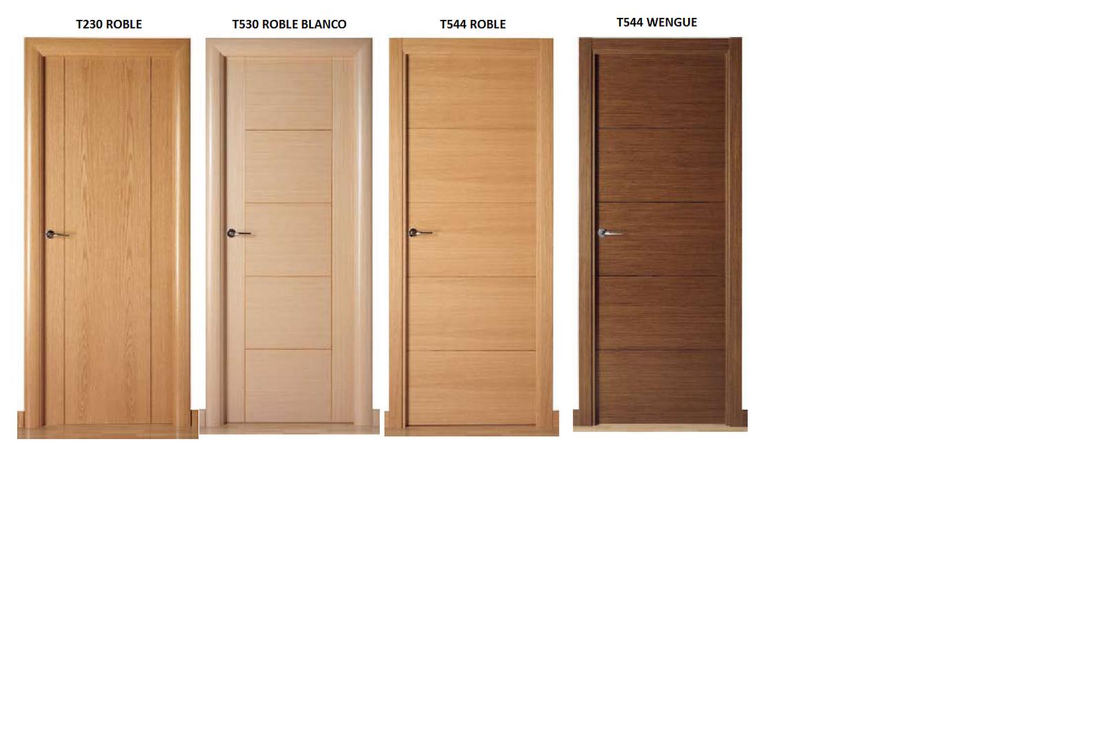 Puertas de exterior e interior puertas interior l nea moderna - Puertas de madera interior ...