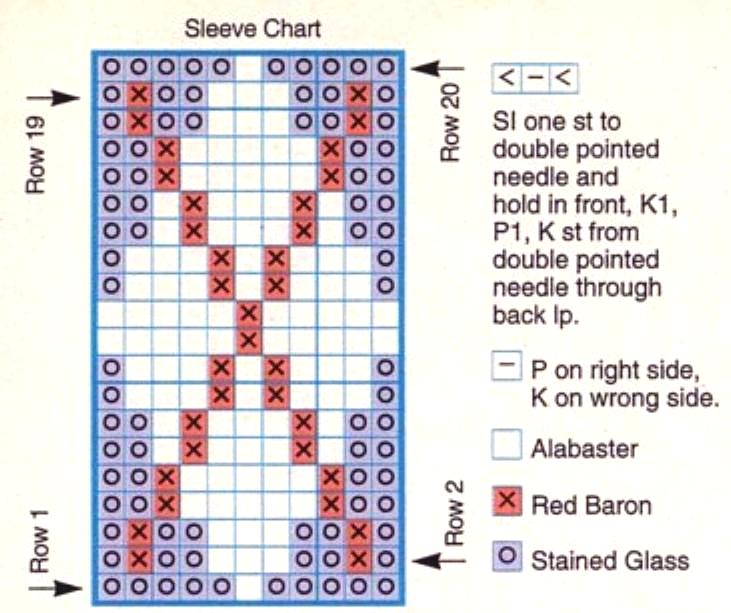 Argyle Knitting Pattern Chart Ipaafo For