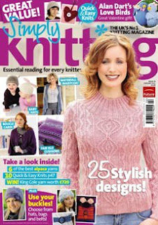 Simply Knitting №76 February 2011