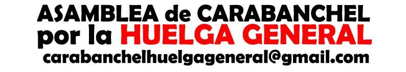 Asamblea de Carabanchel por la Huelga General