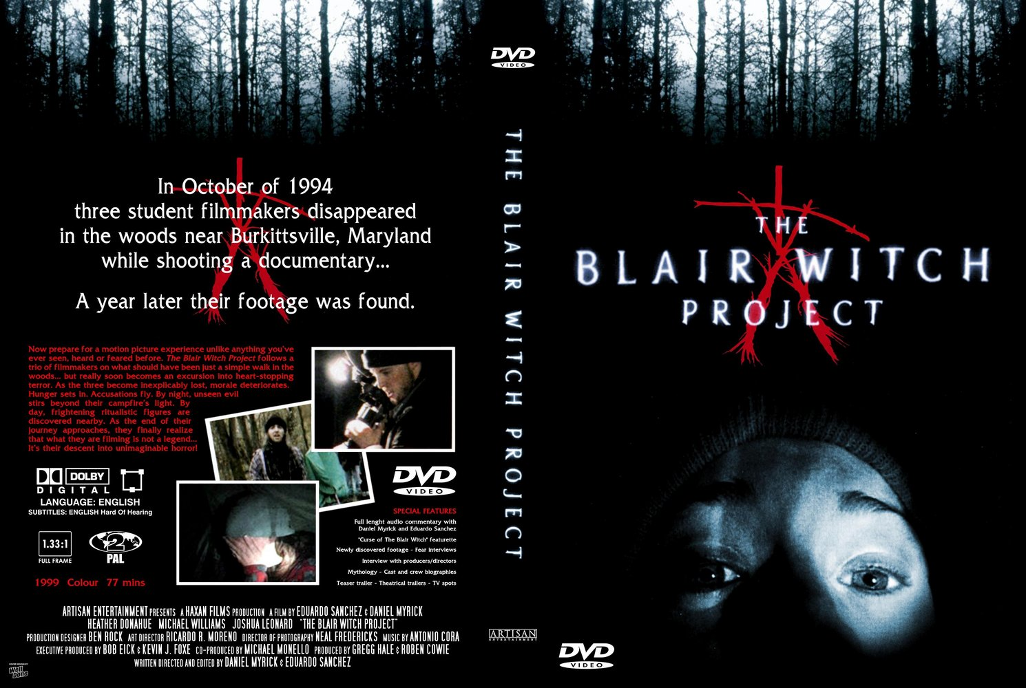 "the blair witch project story Was it based on a true story when ""the blair witch"" was released many viewers believed the story was based on a how much did ""the blair witch project"" make."
