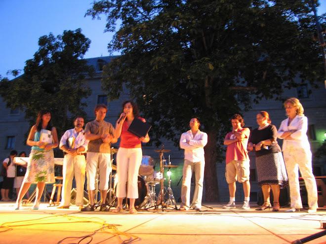 Primer Premio del II Certamen de cantautores de San Lorenzo del Escorial (2005)