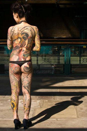 japanese art tattoos. Japanese Body Art Tattoo