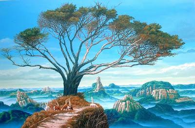 cuadros de paisajes surrealistas