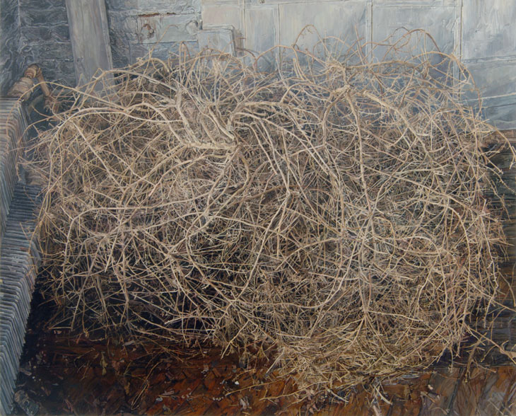I thought of Wyeth and then read someone else said Wyeth. Tumbleweed by Ellen Altfest.