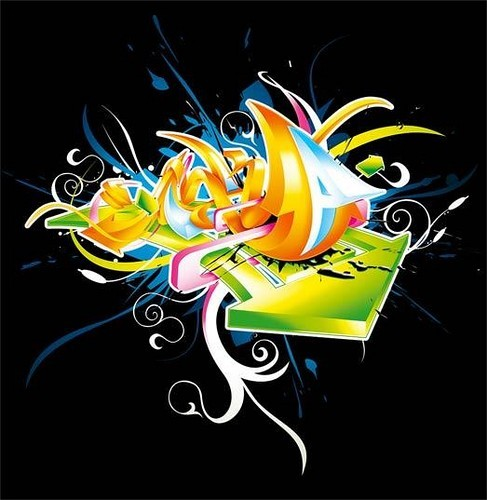 cool graffiti wallpaper. graffiti wallpaper desktop 3d.