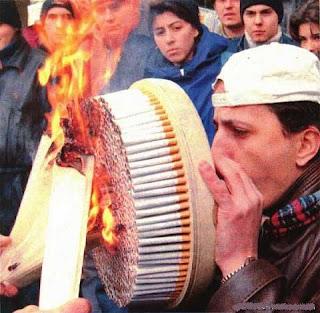 El 1 de enero, prohibido fumar en lugares públicos