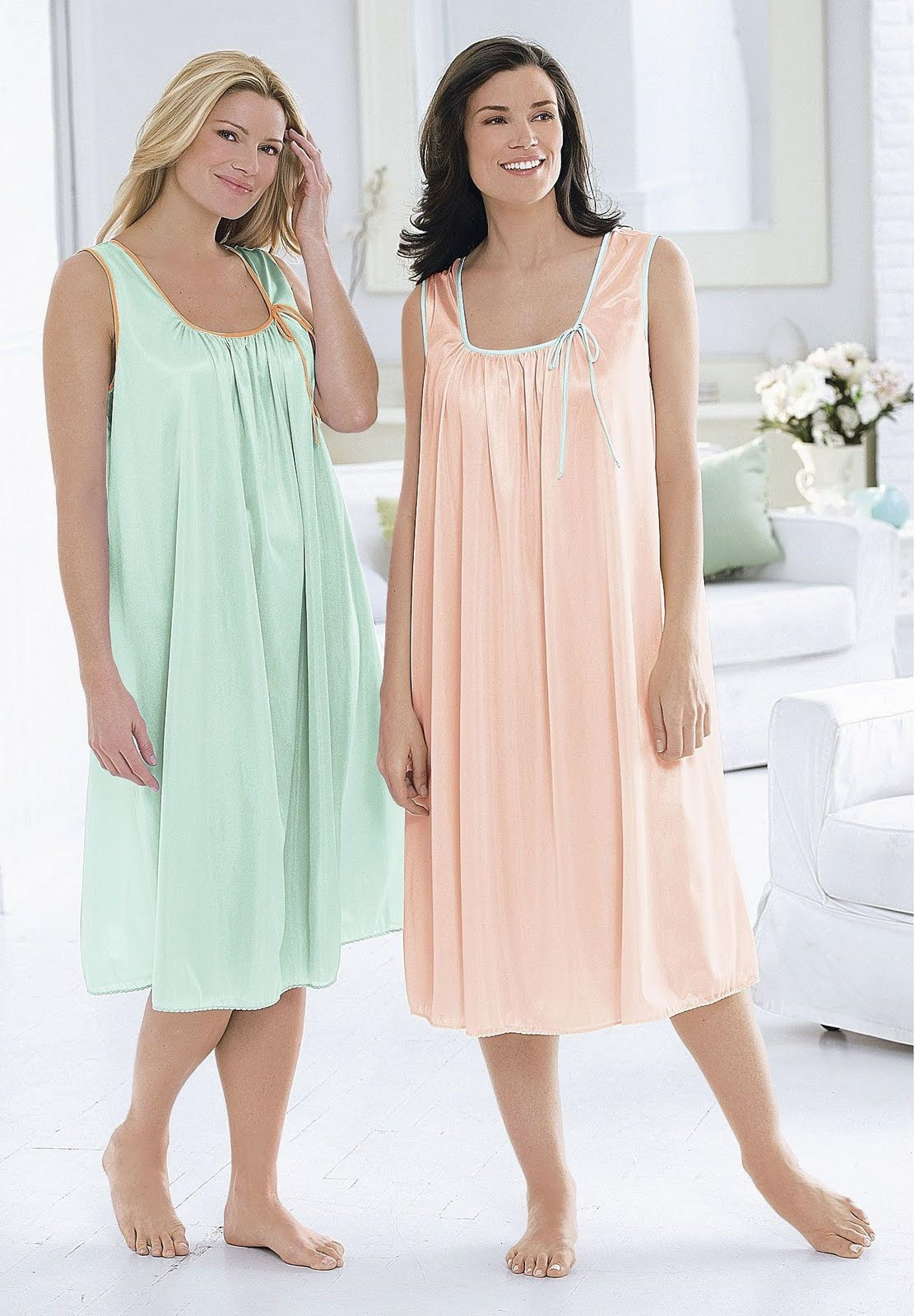 Women\'s Nightgowns: Plus Size Night Gowns