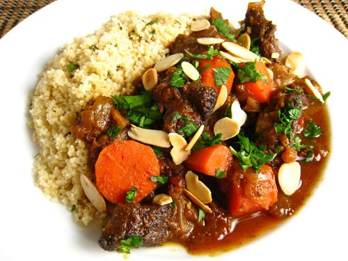 Moroccan Lamb Tagine on Closet Cooking
