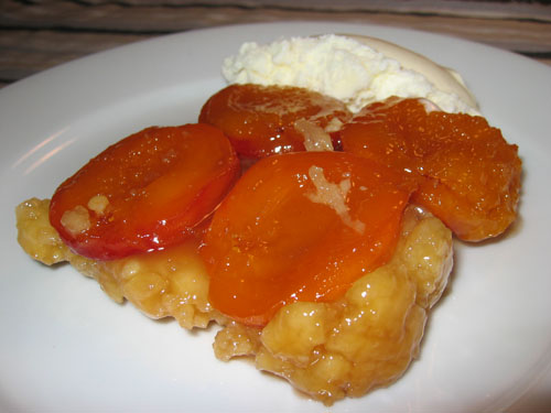 Apricot Tatin on Closet Cooking