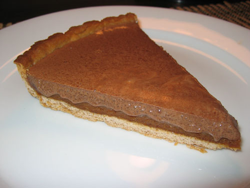 Milk Chocolate and Caramel Tart on Closet Cooking