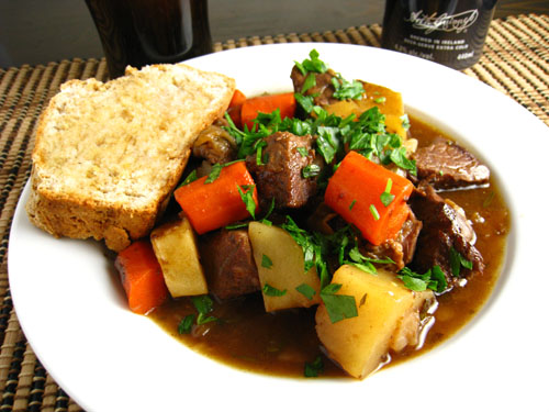 Irish Lamb Stew on Closet Cooking