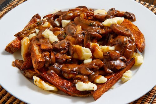 Poutine with a Mushroom Gravy