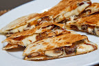 Mushroom Quesadillas